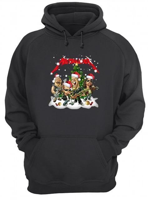 Metallica Christmas Tree Hoodie