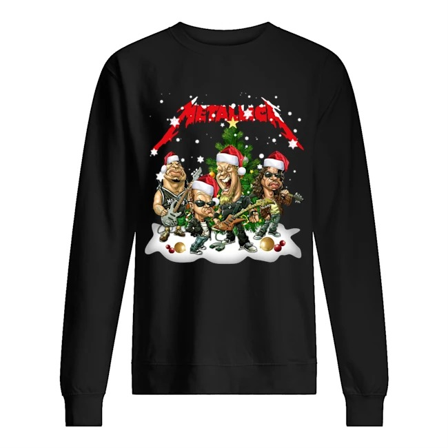 Metallica Christmas Tree Sweater