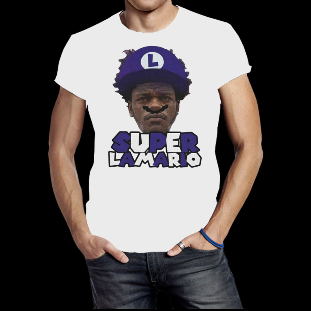 Super Lamario shirt
