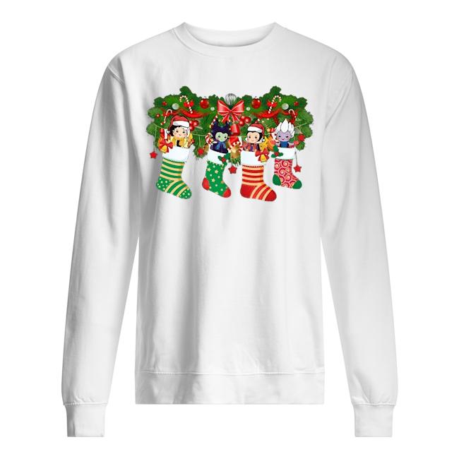 Villains In socks Christmas Sweater
