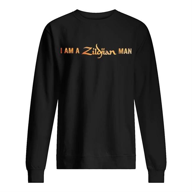 I am a Zildjian man Sweater